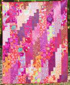 Stepping Up quilt sewing pattern from Anything But Boring 2