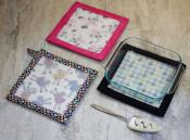 Hot Stuff Trivet and Pot Holder Large sewing pattern from Around the Bobbin 2