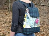 Izzie Convertible Backpack sewing pattern from Around the Bobbin 2