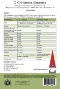 INVENTORY REDUCTION...O Christmas Gnomes sewing pattern from Around The Bobbin 1