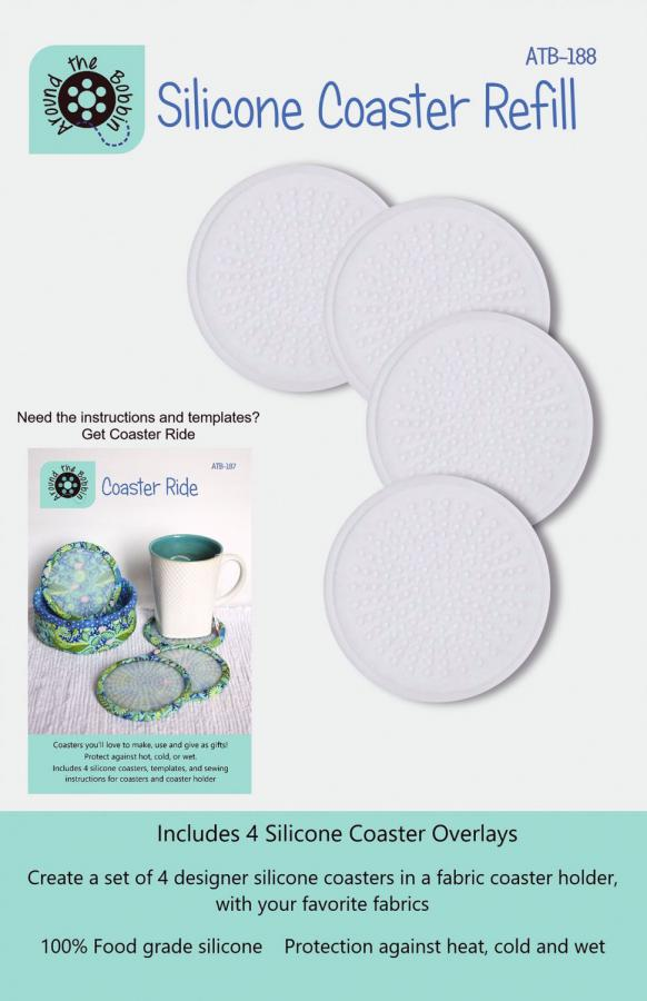 Silicone-Coaster-Refill-sewing-pattern-Around-The-Bobbin-front