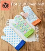 Hot Stuff Oven Mitt sewing pattern from Around the Bobbin 2