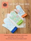 Hot Stuff Oven Mitt sewing pattern from Around the Bobbin