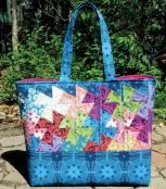 Simply Charming Twister Tote sewing pattern from Around the Bobbin 2