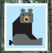 Bear Block - Wonderful Woodland Quilt sewing pattern from Art East Quilting Co. 2