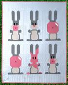 Blowing Up Bunnies quilt sewing pattern from Art East Quilting Co. 2