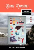 Going Coastal quilt sewing pattern from Art East Quilting Co.