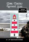 Lighthouse Block - Going Coastal quilt sewing pattern from Art East Quilting Co.