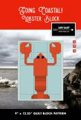 Lobster Block - Going Coastal quilt sewing pattern from Art East Quilting Co.
