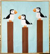 Nothin Like a Puffin quilt sewing pattern from Art East Quilting Co. 2