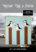 Nothin Like a Puffin quilt sewing pattern from Art East Quilting Co.