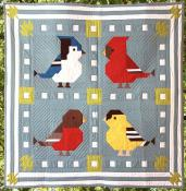 Quilting is 4 The Birds quilt sewing pattern from Art East Quilting Co. 2