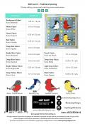 Quilting is 4 The Birds quilt sewing pattern from Art East Quilting Co. 1