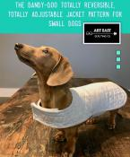 The Dandy Doo Jacket Pattern - Small Dogs sewing pattern from Art East Quilting Co. 2