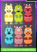 The Monster Mash quilt sewing pattern from Art East Quilting Co. 2