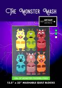The Monster Mash quilt sewing pattern from Art East Quilting Co.