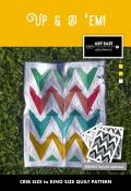 Up & @ em! quilt sewing pattern from Art East Quilting Co.