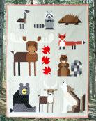 Wonderful Woodland Quilt sewing pattern from Art East Quilting Co. 2