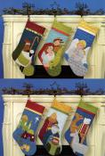 Christmas Pure & Simple quilt sewing pattern book by Nancy Halvorsen Art to Heart 3