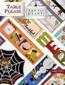 Table Please TWO sewing pattern Book by Nancy Halvorsen Art to Heart