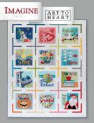 INVENTORY REDUCTION...Imagine sewing pattern book by Nancy Halvorsen Art to Heart