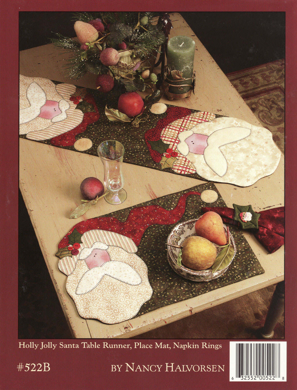 Happy-Holidays-to-You-sewing-pattern-book-Art-To-Heart-back