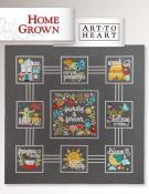 Home Grown sewing pattern book Art To Heart