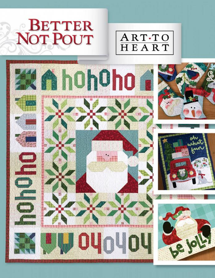 Better Not Pout sewing pattern project book from Art to Heart