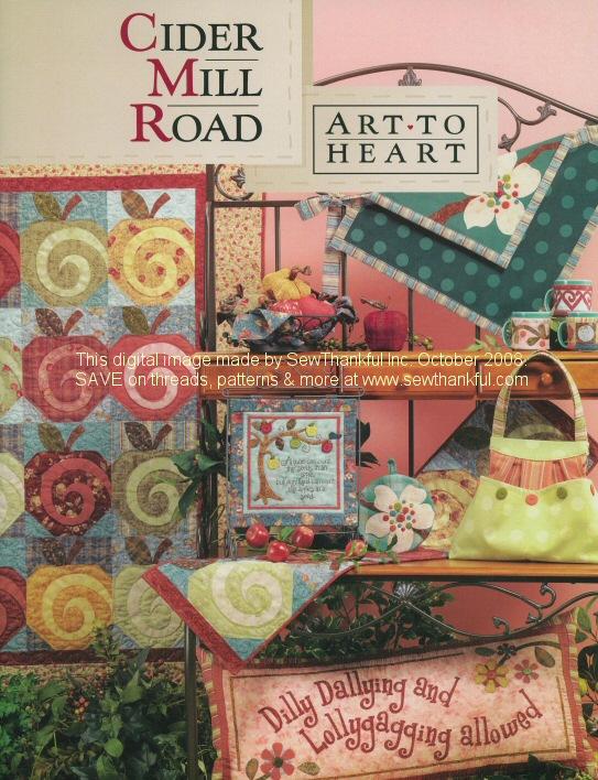 Cider Mill Road Art To Heart Pattern Book By Nancy Halvorsen