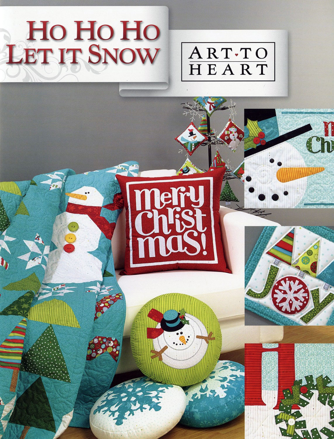 Ho-Ho-Ho-Let-It-Snow-sewing-book-Art-To-Heart-front