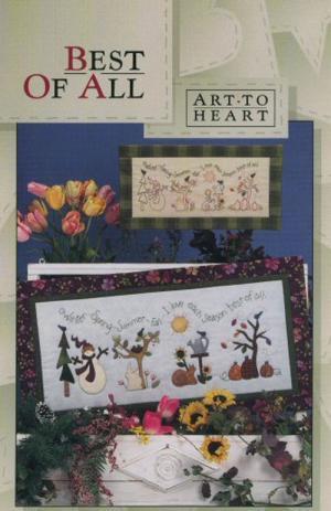 Best Of All quilt sewing pattern by Nancy Halvorsen Art to Heart