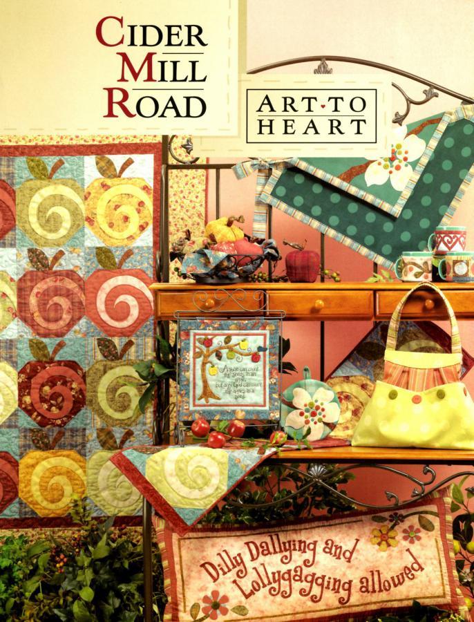 Cider Mill Road sewing pattern book by Nancy Halvorsen Art to Heart