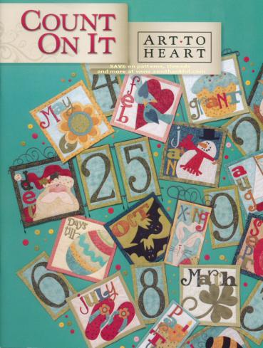 Count On It quilt sewing pattern book by Nancy Halvorsen Art to Heart