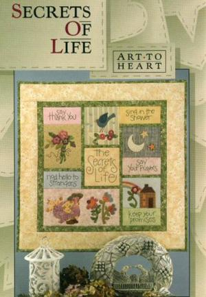 Secrets Of Life quilt sewing pattern by Nancy Halvorsen Art to Heart
