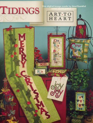 Tidings sewing pattern book by Nancy Halvorsen Art to Heart