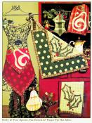 12 Days of Christmas quilt sewing pattern book by Nancy Halvorsen Art to Heart 5