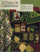 INVENTORY REDUCTION...12 Days of Christmas quilt sewing pattern book by Nancy Halvorsen Art to Heart