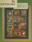 Be Attitudes quilt sewing pattern book by Nancy Halvorsen Art to Heart