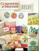 Curiosities & Mischief sewing pattern book by Nancy Halvorsen Art to Heart