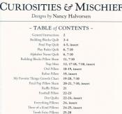 Curiosities & Mischief sewing pattern book by Nancy Halvorsen Art to Heart 3