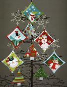 Ho Ho Ho Let It Snow sewing pattern/project book by Nancy Halvorsen Art to Heart 5