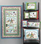 Ho Ho Ho Let It Snow sewing pattern/project book by Nancy Halvorsen Art to Heart 6