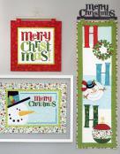 Ho Ho Ho Let It Snow sewing pattern/project book by Nancy Halvorsen Art to Heart 7