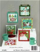 Ho Ho Ho Let It Snow sewing pattern/project book by Nancy Halvorsen Art to Heart 1