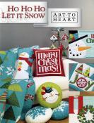 Ho Ho Ho Let It Snow sewing pattern/project book by Nancy Halvorsen Art to Heart