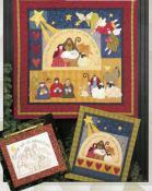 Joy To The World quilt sewing pattern by Nancy Halvorsen Art To Heart 2