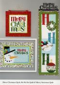 Ho Ho Ho Let It Snow sewing pattern/project book by Nancy Halvorsen Art to Heart 9