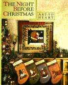 The Night Before Christmas sewing pattern book by Nancy Halvorsen Art to Heart
