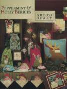 Peppermint & Holly Berries sewing pattern book by Nancy Halvorsen Art to Heart