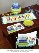 Table Please sewing pattern book by Nancy Halvorsen Art to Heart 3